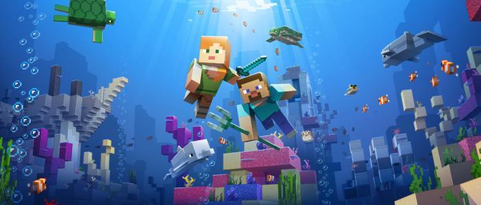 Что нового принес нам апдейт Minecraft aquatic