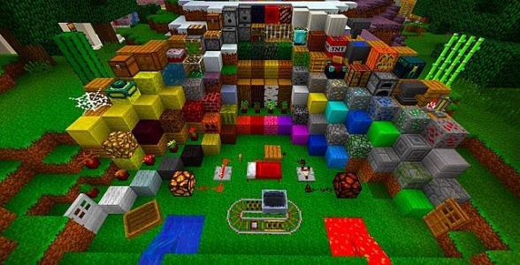 Майнкрафт блоки